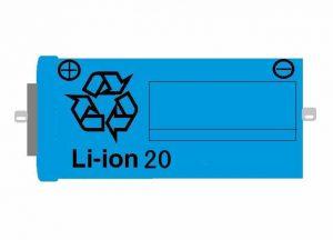 リチウムイオン電池(Li-ion20)